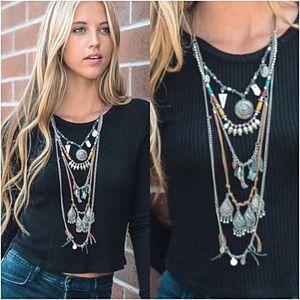Jewelry - Bohemian Festival Layered Necklace